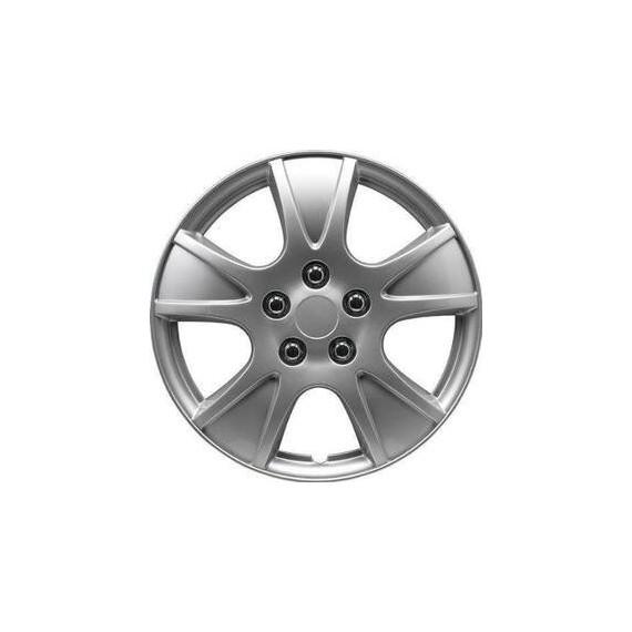 Neumático y tapacubos Tapacubos de 13 pulgadas plateado