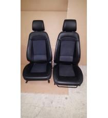 Par de asientos de cuero Ligier Xtoo , IXO , JS 50 (modelo 2018)