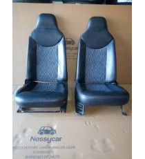 Par de asientos de cuero Ligier Xtoo,xtoos ,xtoo max , xtoo r , xtoo rs , IXO , ds 50 usados