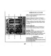 Junta de culata Lombardini focs/Progress (1 muesca espesor 1,55mm)