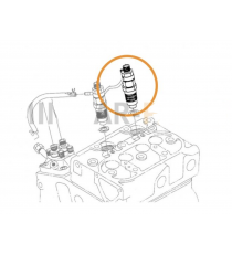inyector de segunda mano kubota Z402 por 2