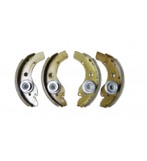 Juego de 4 zapatas de freno aixam microcar / ligier / jdm / chatenet diametre ( tambor 160mm )