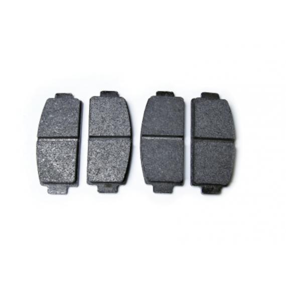 Pastilla de freno Pastilla de freno trasera Ligier IXO (1er montaje) / Microcar Mgo1 , MGO 2 / M8 / F8C /DUE first